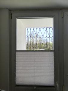 Plisy okienne w mieszkaniu 1