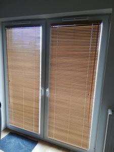 Żaluzje balkonowe w mieszkaniu